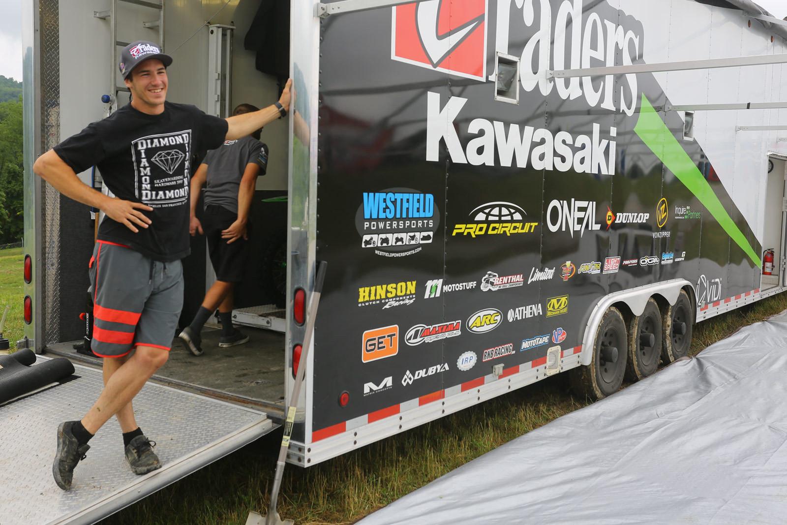 Tony Archer - Vital MX Pit Bits: High Point - Motocross Pictures - Vital MX