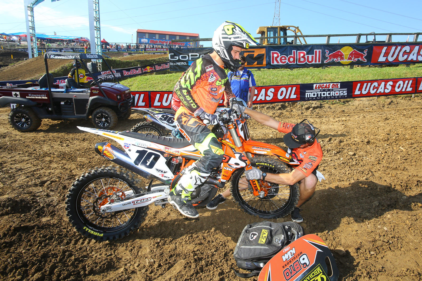 Justin Brayton and Brent Duffe - Vital MX Pit Bits: High Point - Motocross Pictures - Vital MX
