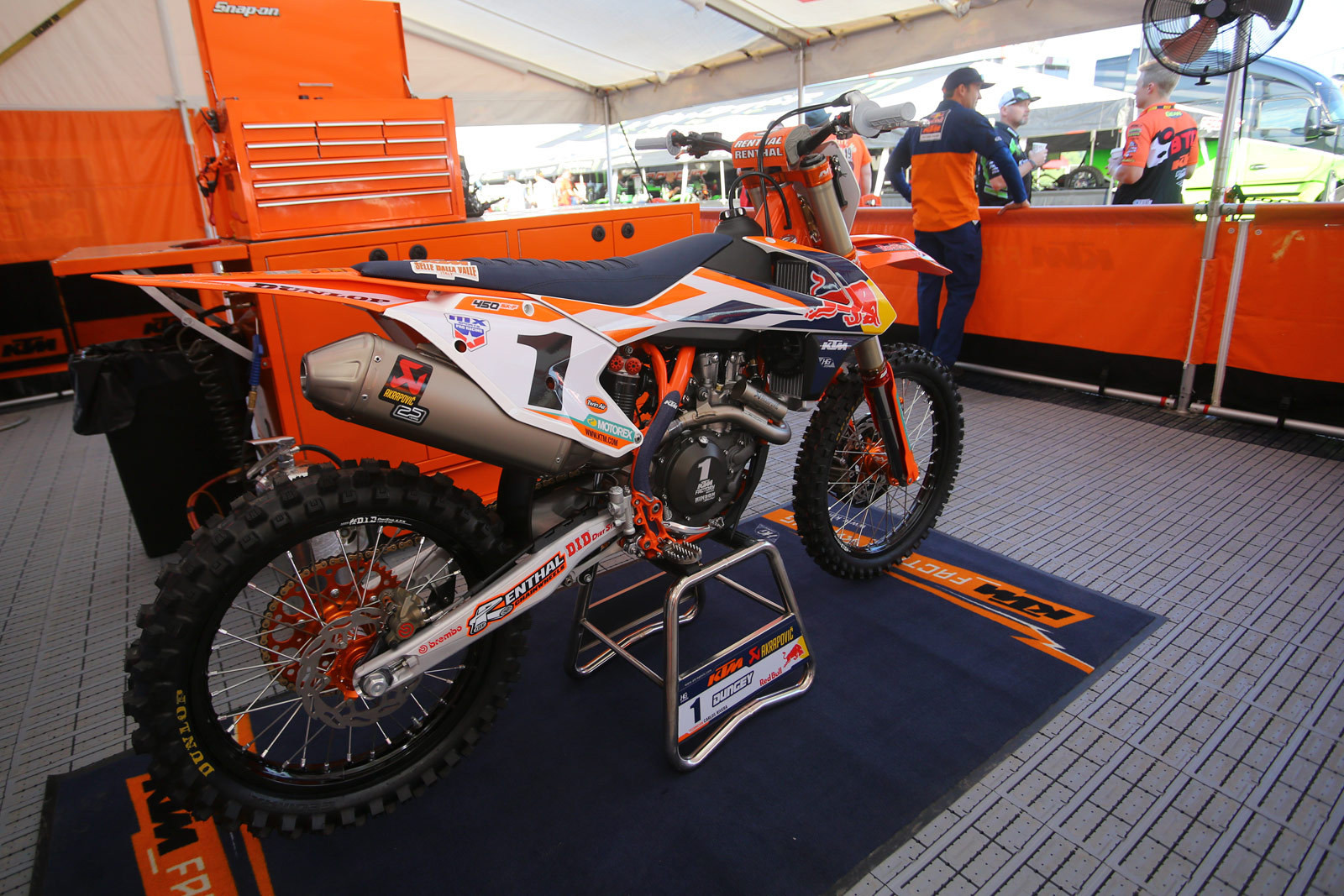 Red Bull KTM - Vital MX Pit Bits: High Point - Motocross Pictures - Vital MX