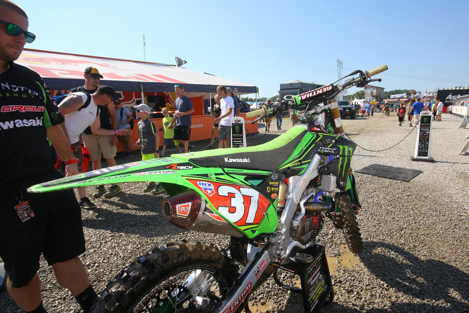 Joey Savatgy - Vital MX Pit Bits: High Point - Motocross Pictures - Vital MX