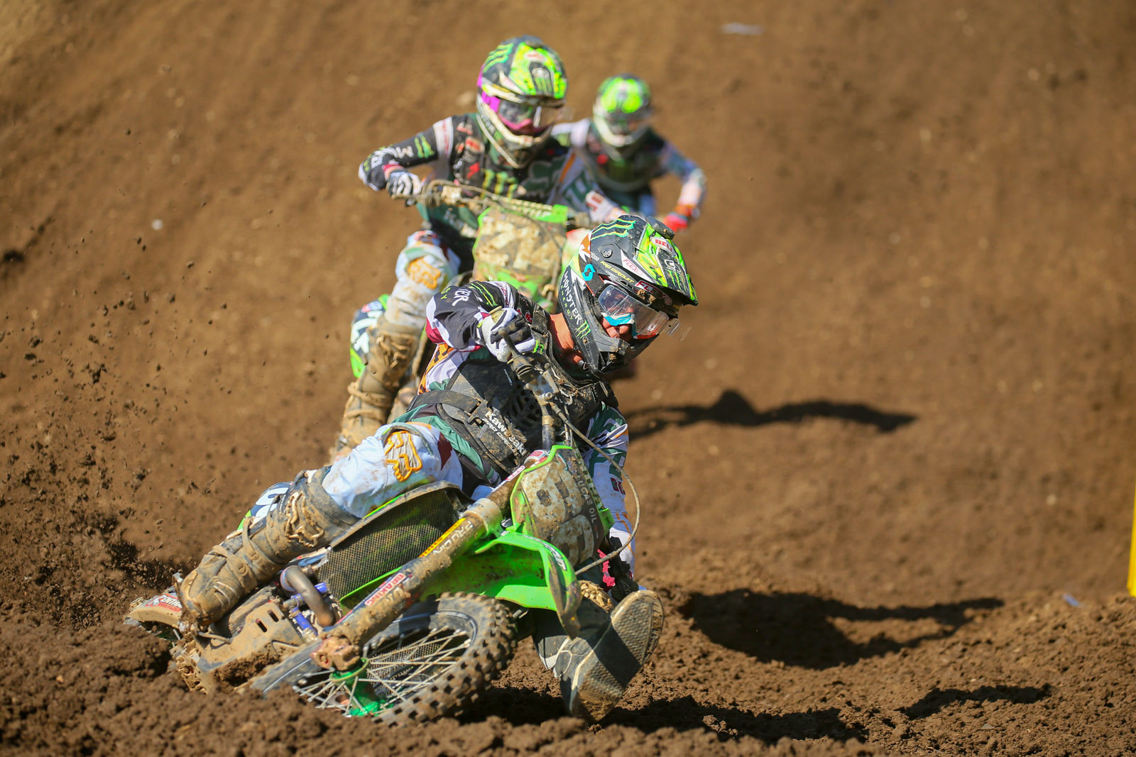 Arnaud Tonus, Austin Forkner, Joey Savatgy - Photo Blast: Muddy Creek - Motocross Pictures - Vital MX