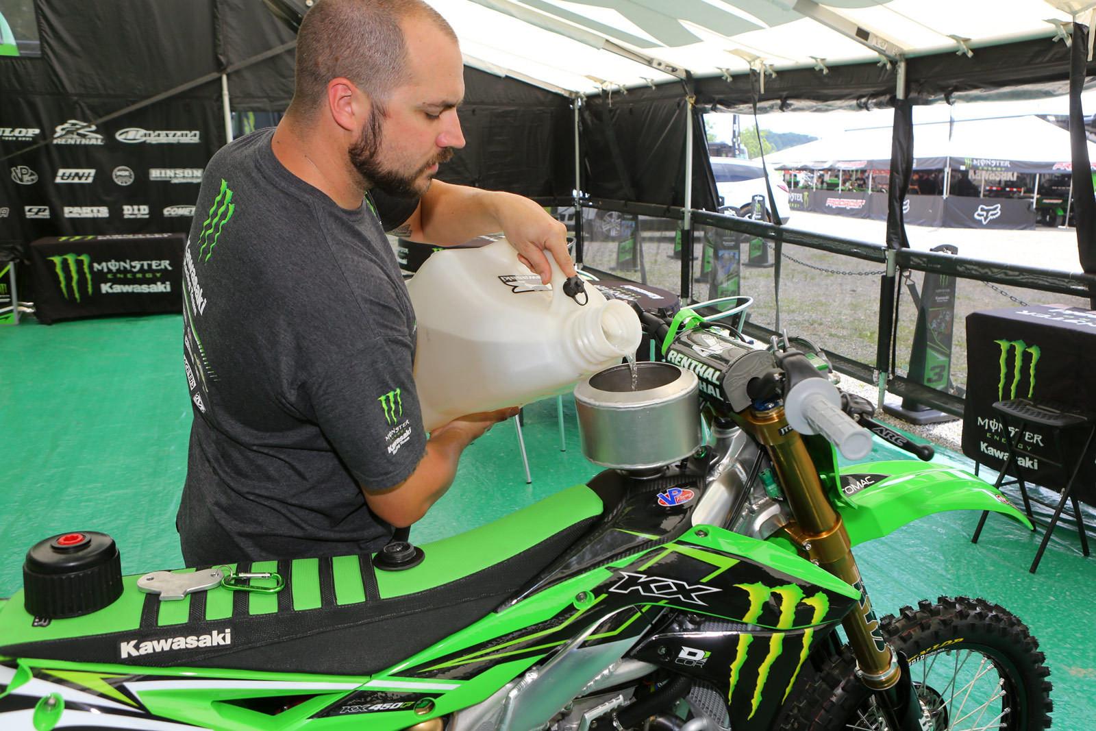 Monster Energy Kawasaki - Vital MX Pit Bits: Muddy Creek - Motocross Pictures - Vital MX
