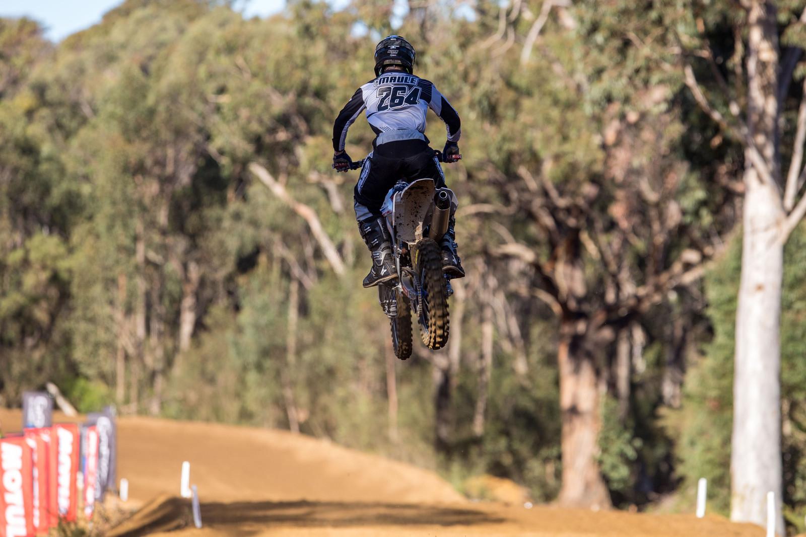 Izak Maule - Australian Motul MX Championships: Round 6, Nowra - Motocross Pictures - Vital MX