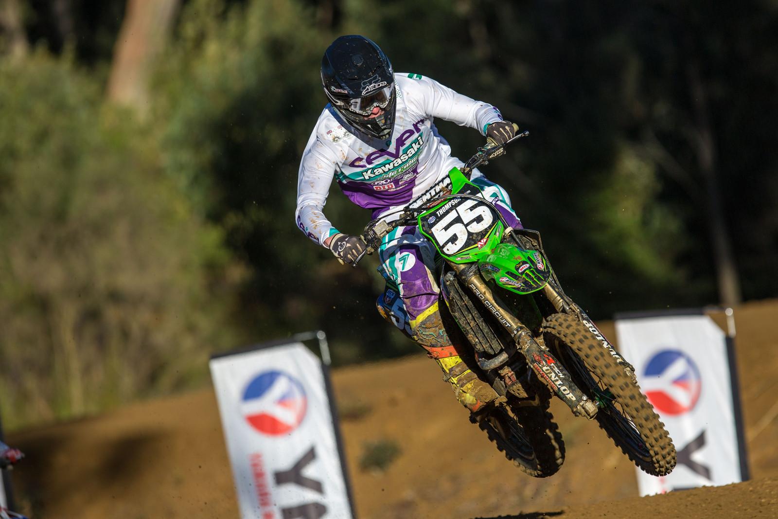 Ben Thompson - Australian Motul MX Championships: Round 6, Nowra - Motocross Pictures - Vital MX
