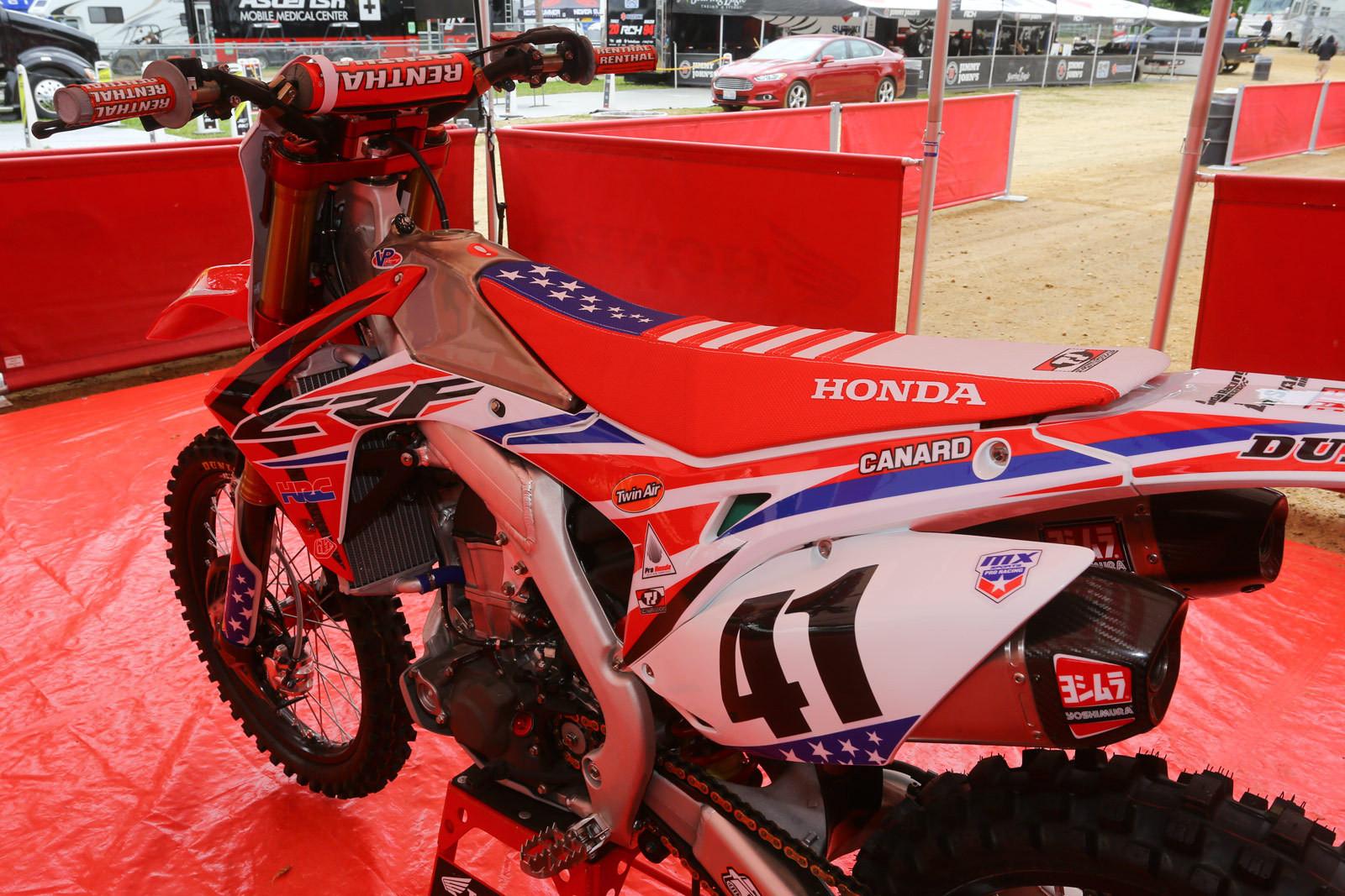 Team Honda HRC - Vital MX Pit Bits: RedBud - Motocross Pictures - Vital MX