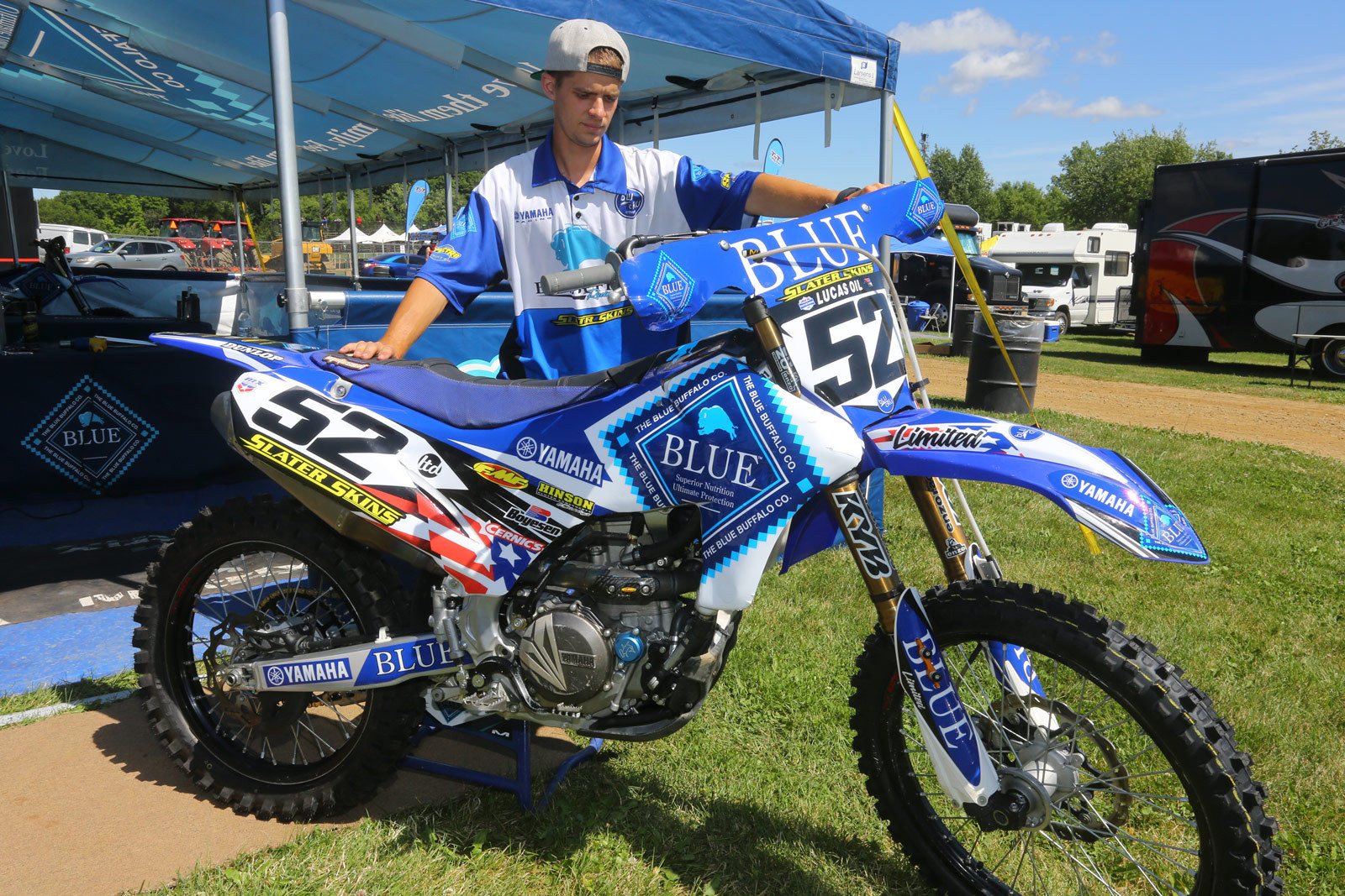 Ben LaMay - Vital MX Pit Bits: RedBud - Motocross Pictures - Vital MX