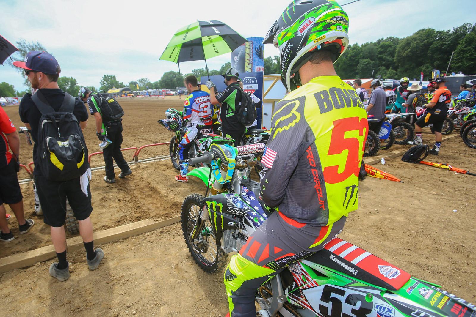 Tyler Bowers - Vital MX Pit Bits: RedBud - Motocross Pictures - Vital MX