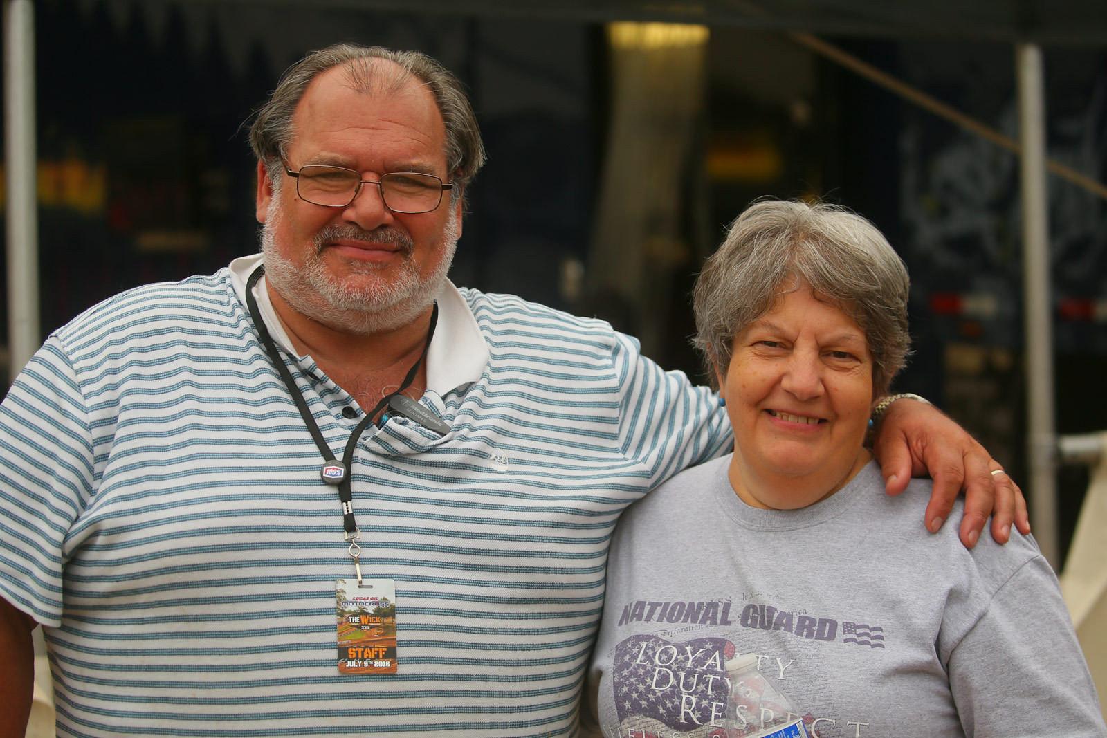 Diane and Ralph Pitello - Pit Bits: Southwick - Motocross Pictures - Vital MX