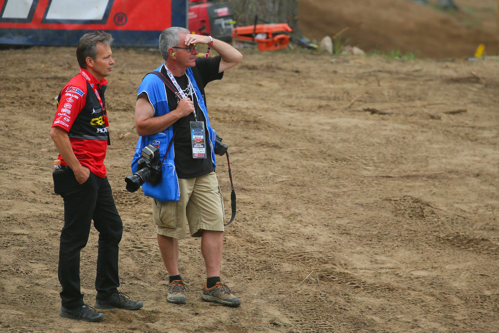 Rick Zielfelder and Paul Buckley - Pit Bits: Southwick - Motocross Pictures - Vital MX