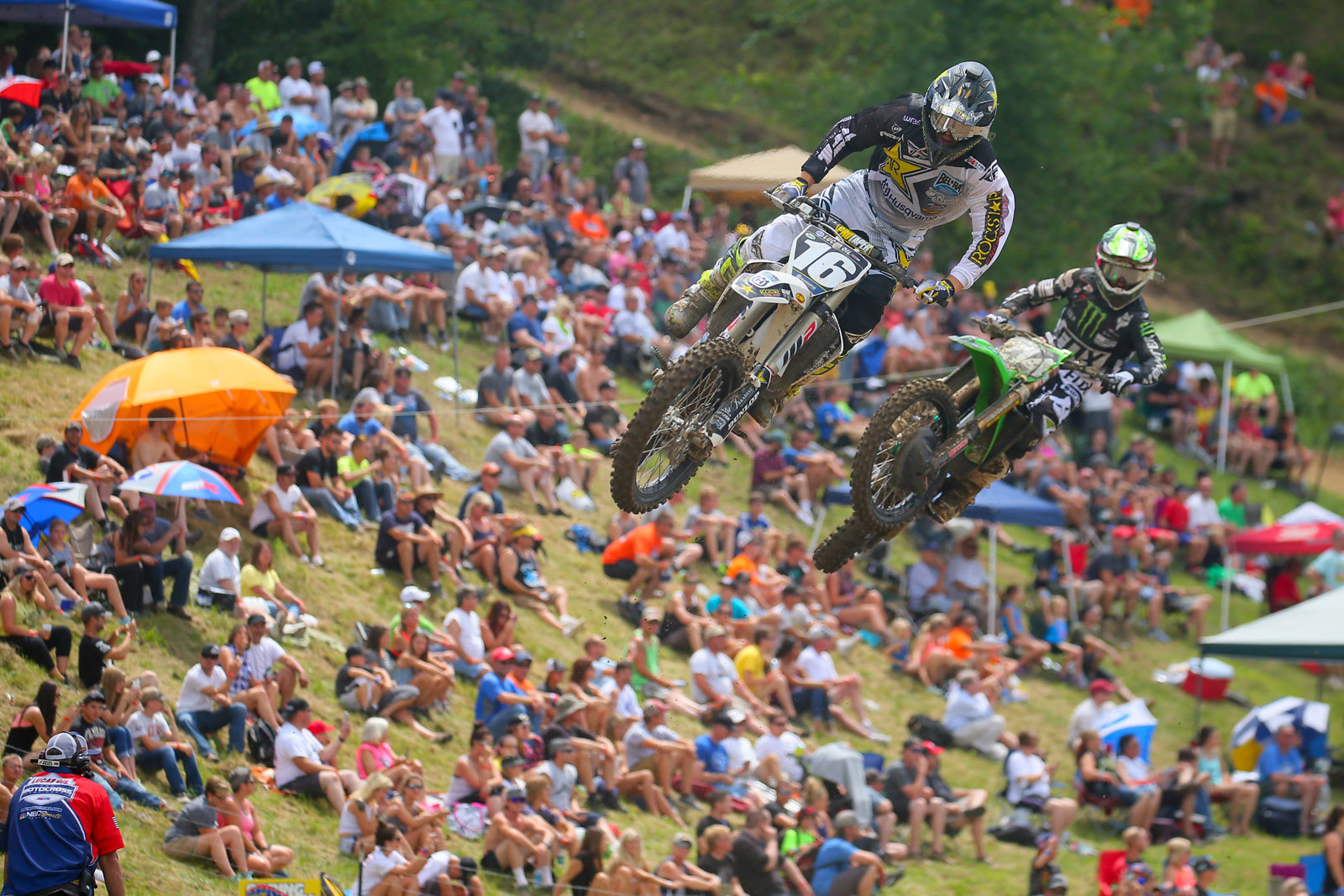Zach Osborne and Austin Forkner - Photo Blast: Spring Creek - Motocross Pictures - Vital MX