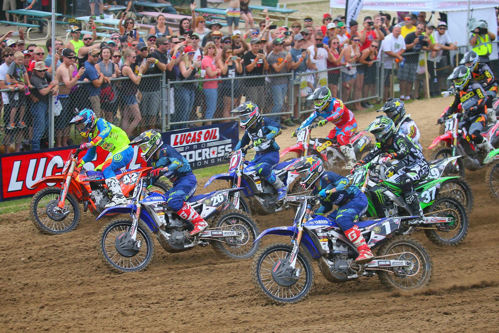 Photo Blast: Spring Creek 250 moto one start - Photo Blast: Spring Creek - Motocross Pictures - Vital MX