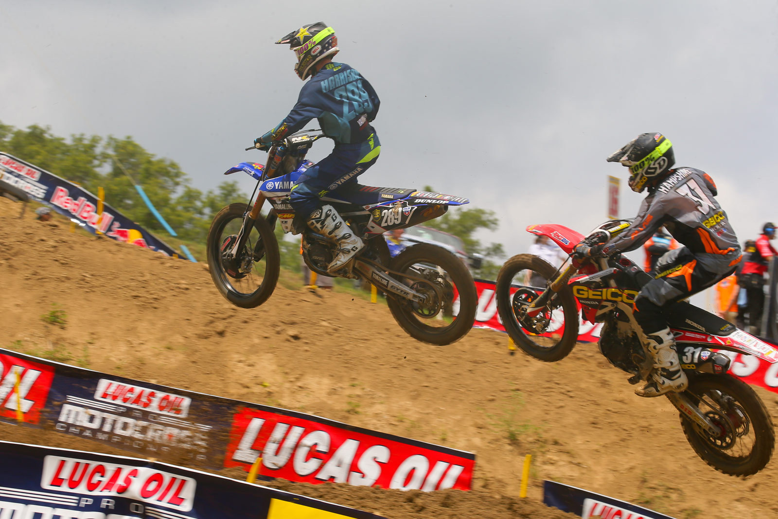 Mitchell Harrison and RJ Hampshire - Photo Blast: Spring Creek - Motocross Pictures - Vital MX