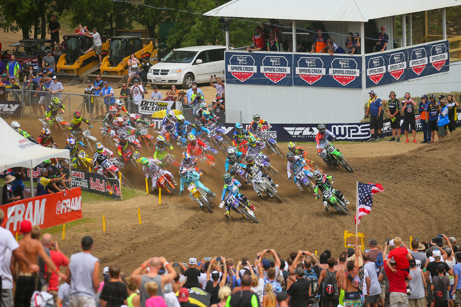 450 moto one start - Photo Blast: Spring Creek - Motocross Pictures - Vital MX