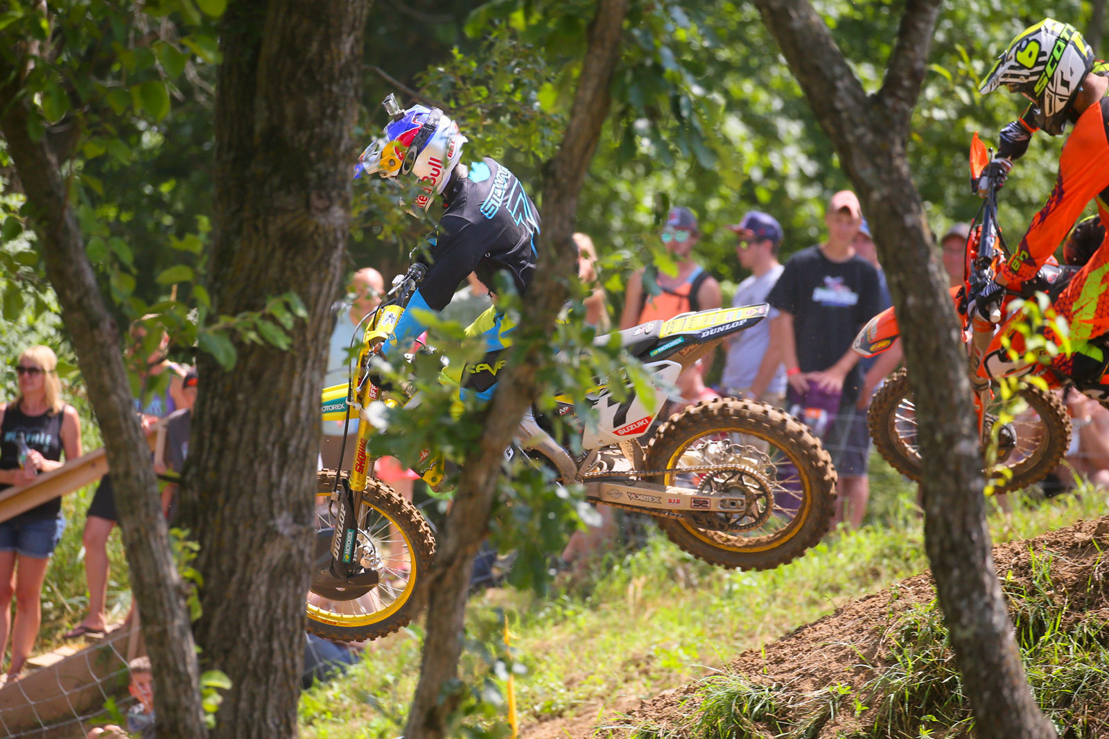 James Stewart and Justin Brayton - Photo Blast: Spring Creek - Motocross Pictures - Vital MX