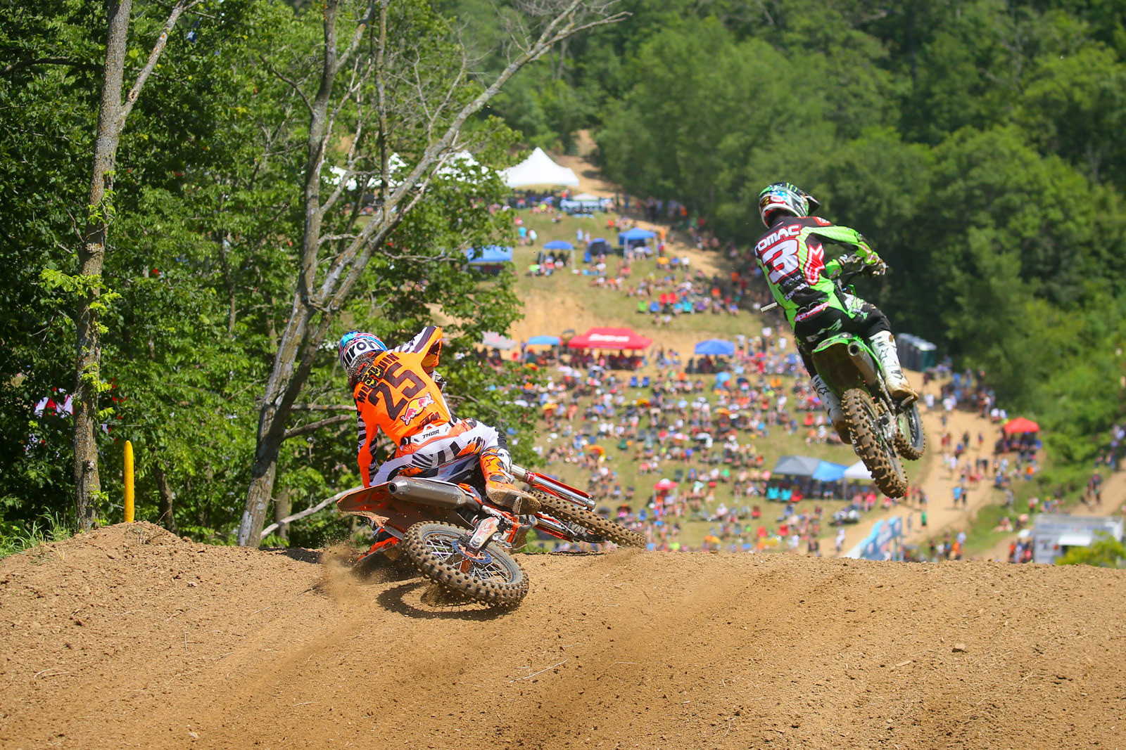 Marvin Musquin and Eli Tomac - Photo Blast: Spring Creek - Motocross Pictures - Vital MX