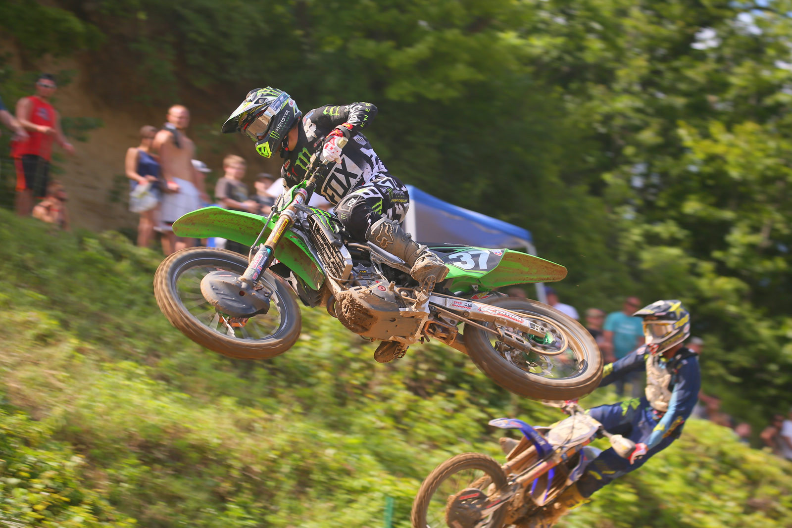 Joey Savatgy and Aaron Plessinger - Photo Blast: Spring Creek - Motocross Pictures - Vital MX