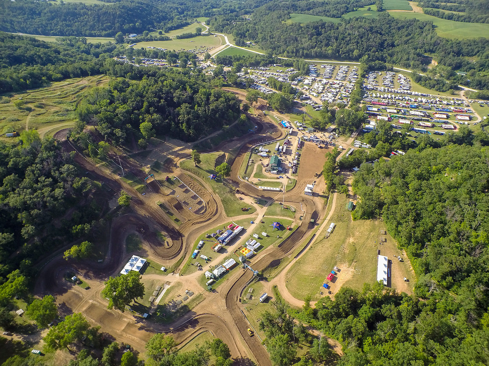 Campers - Vital MX Pit Bits: Spring Creek - Motocross Pictures - Vital MX