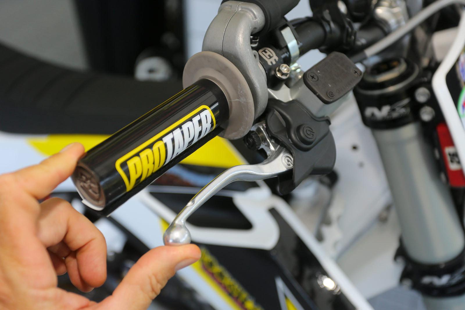 CP's setup - Vital MX Pit Bits: Spring Creek - Motocross Pictures - Vital MX