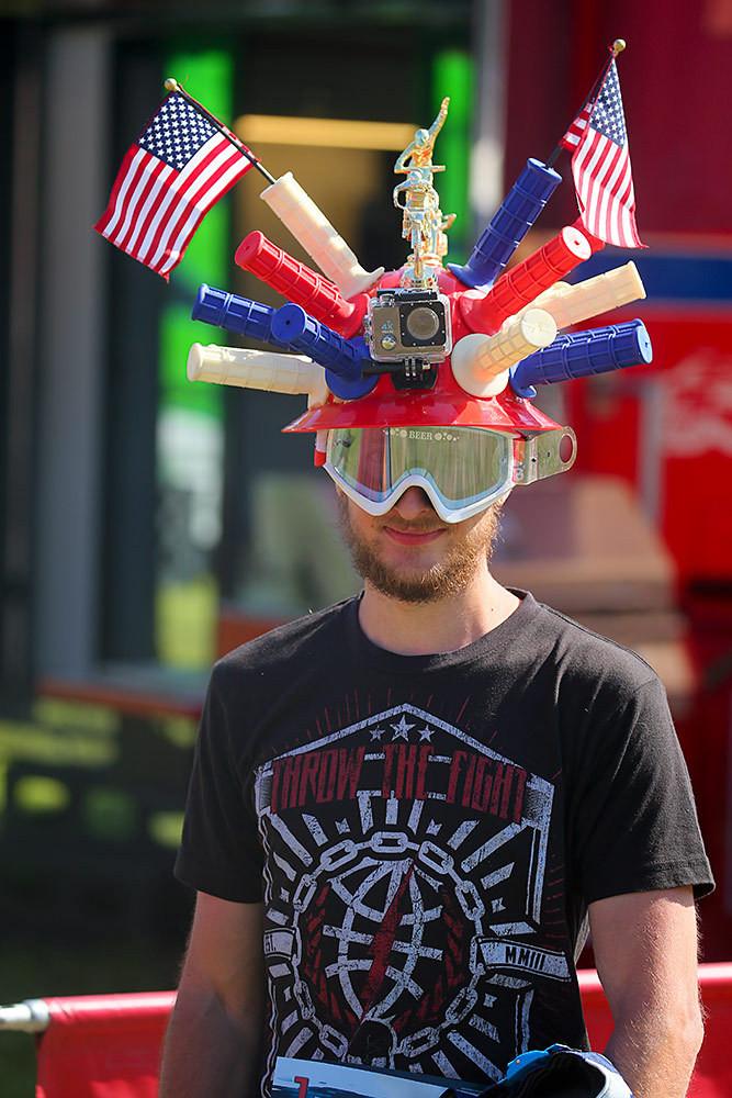 Ornamental headgear - Vital MX Pit Bits: Spring Creek - Motocross Pictures - Vital MX