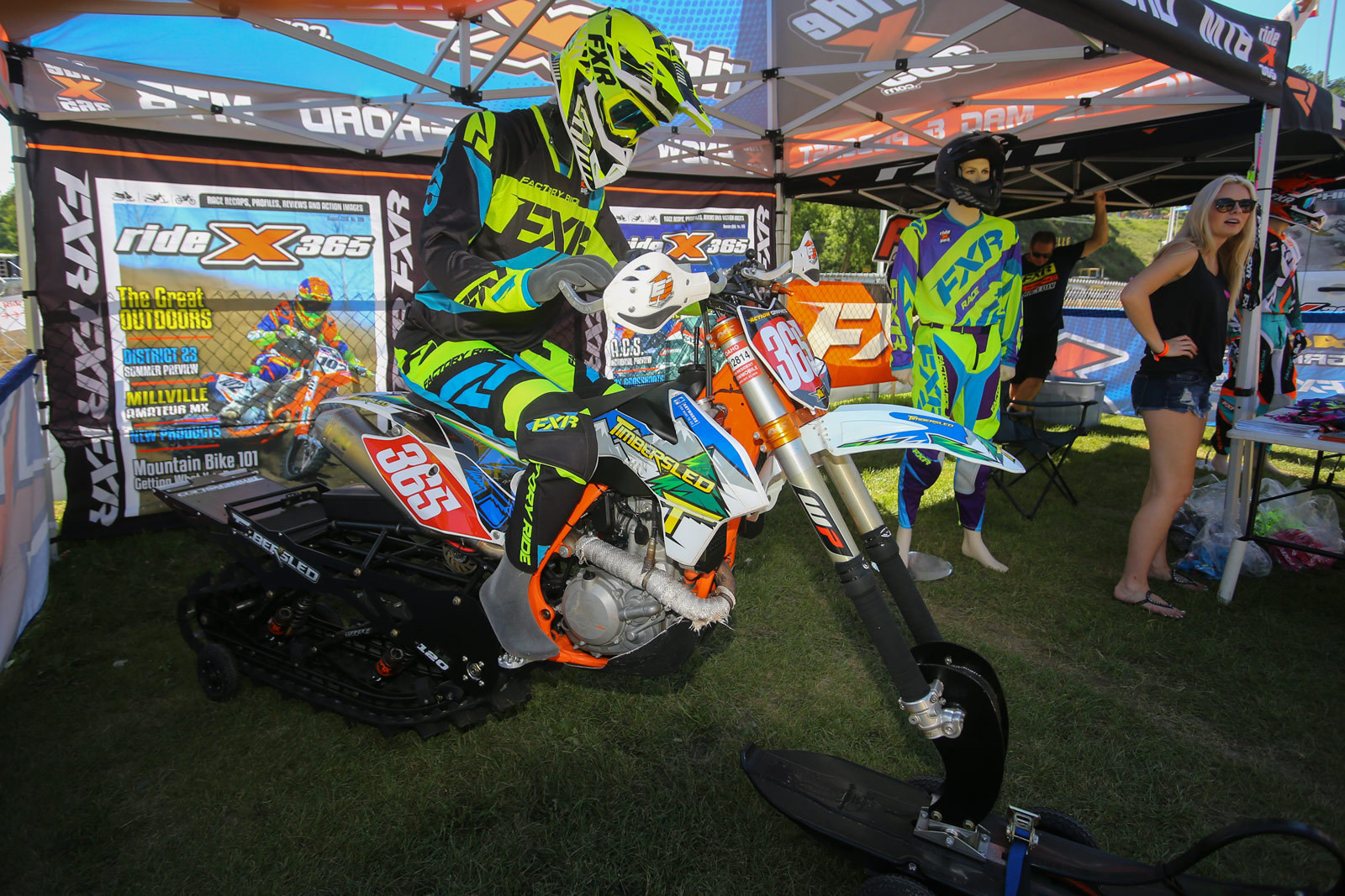 Timbersled - Vital MX Pit Bits: Spring Creek - Motocross Pictures - Vital MX