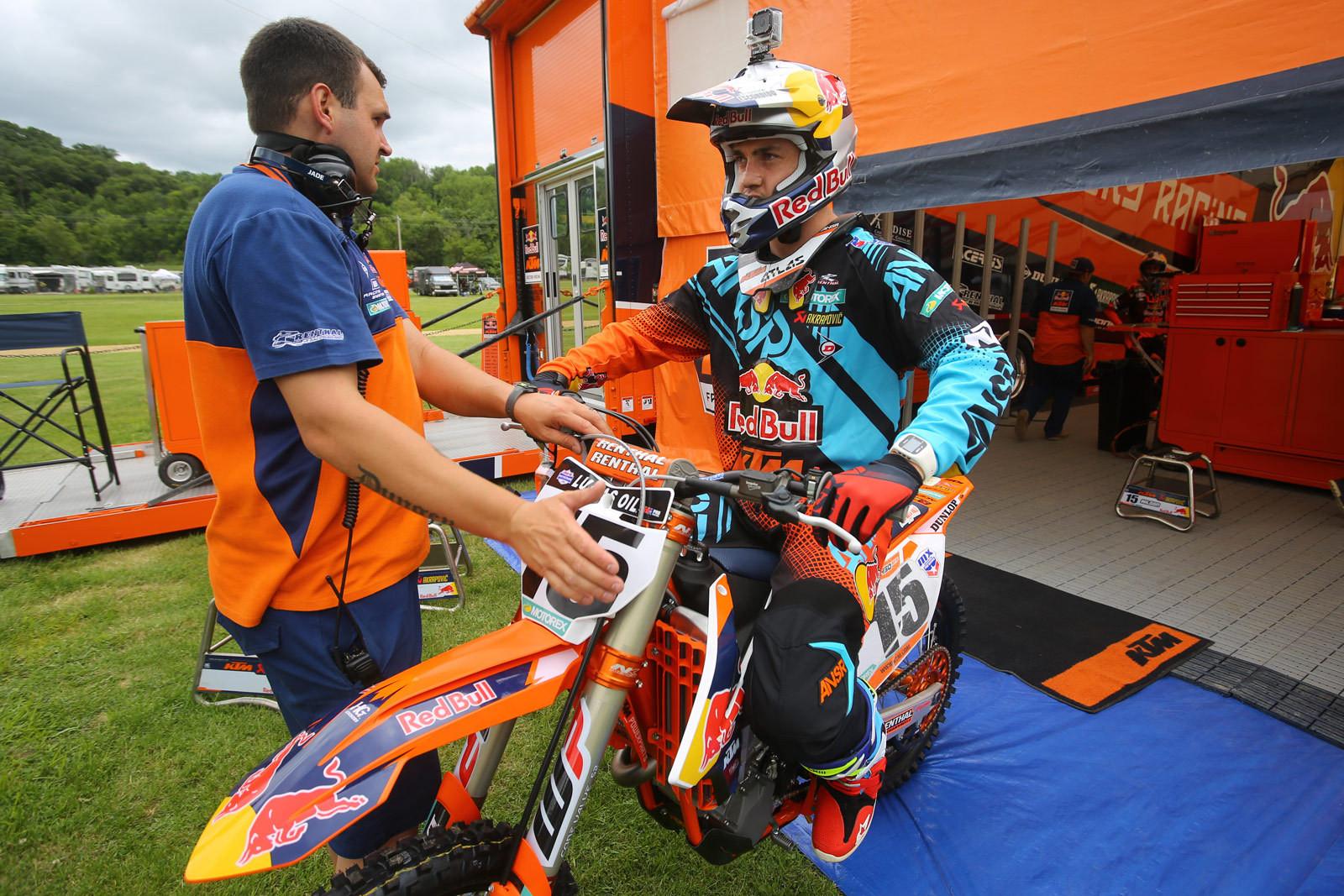 Dean Wilson - Vital MX Pit Bits: Spring Creek - Motocross Pictures - Vital MX