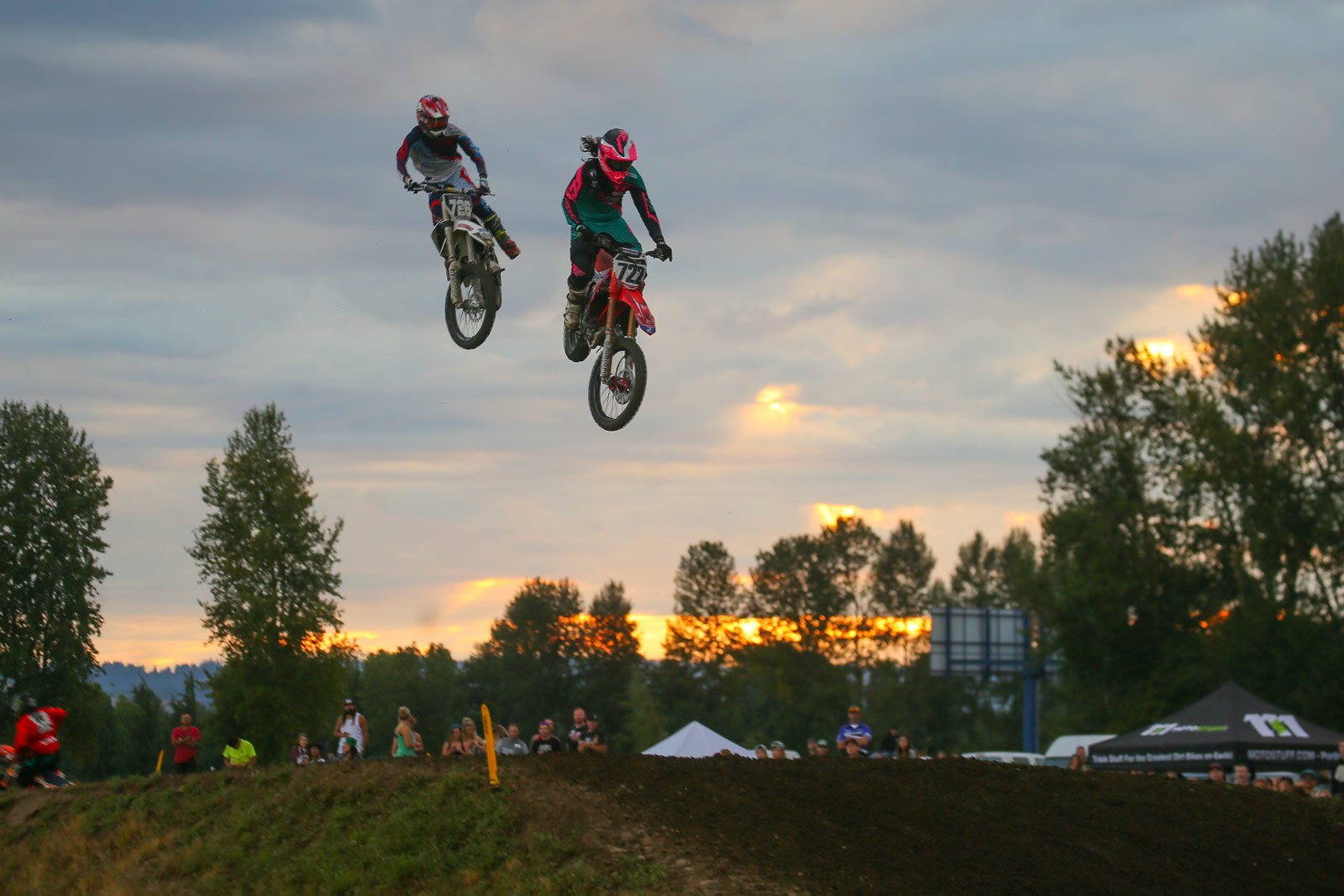 Adam Enticknap and Gared Steinke - Vital MX Pit Bits: Washougal - Motocross Pictures - Vital MX