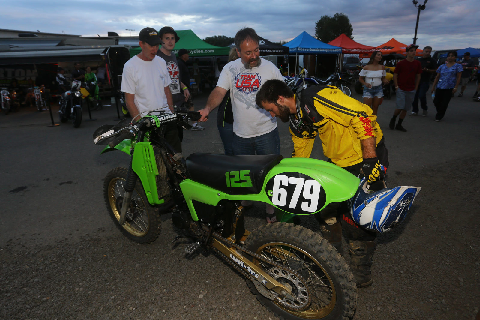 Oops - Vital MX Pit Bits: Washougal - Motocross Pictures - Vital MX