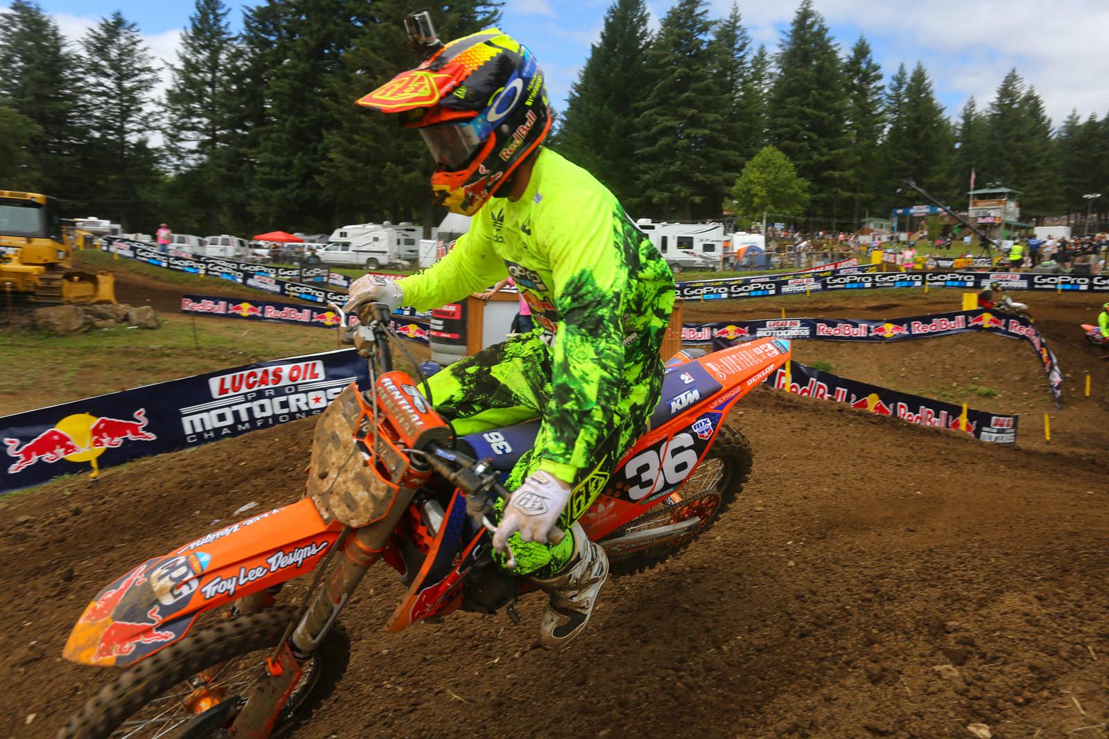 Justin Hill - Vital MX Pit Bits: Washougal - Motocross Pictures - Vital MX