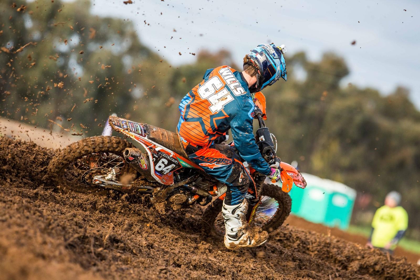 Dylan Wills - Australian Motul MX Championships: Round 8, Shepparton - Motocross Pictures - Vital MX