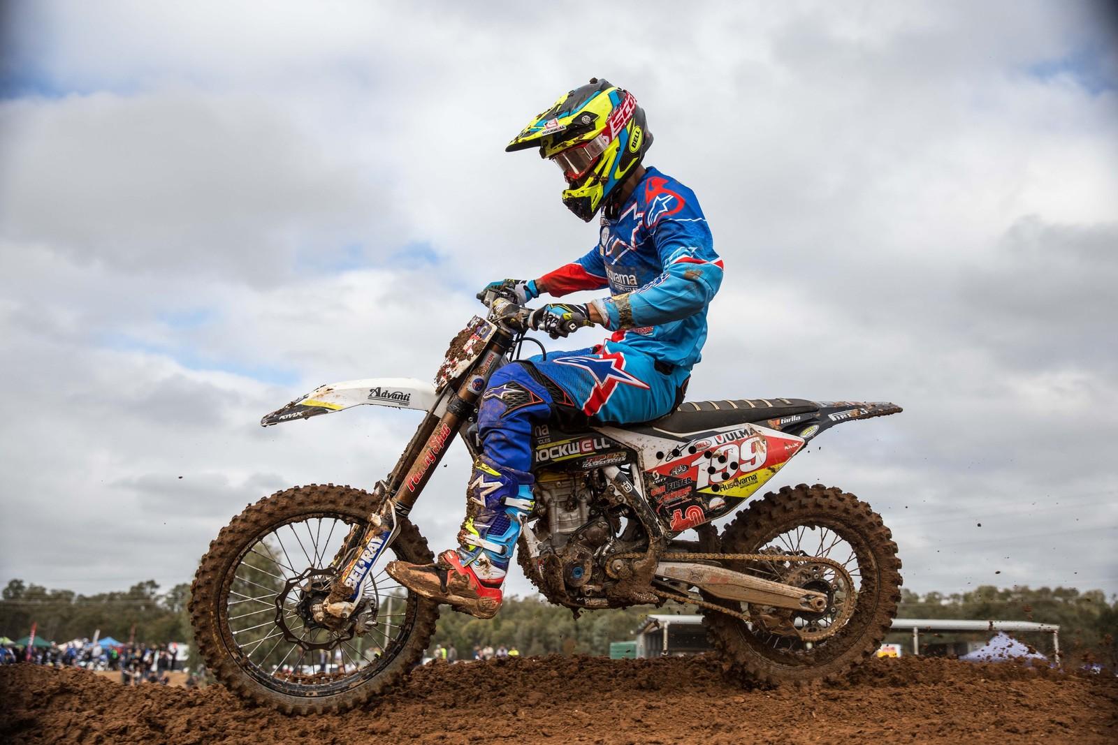 Nathan Crawford - Australian Motul MX Championships: Round 8, Shepparton - Motocross Pictures - Vital MX