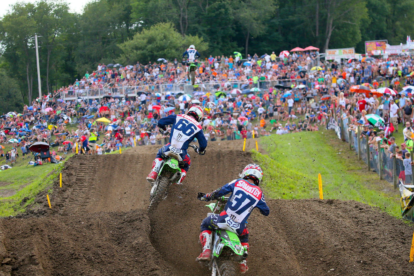 Arnaud Tonus and Joey Savatgy - GuyB - Motocross Pictures - Vital MX