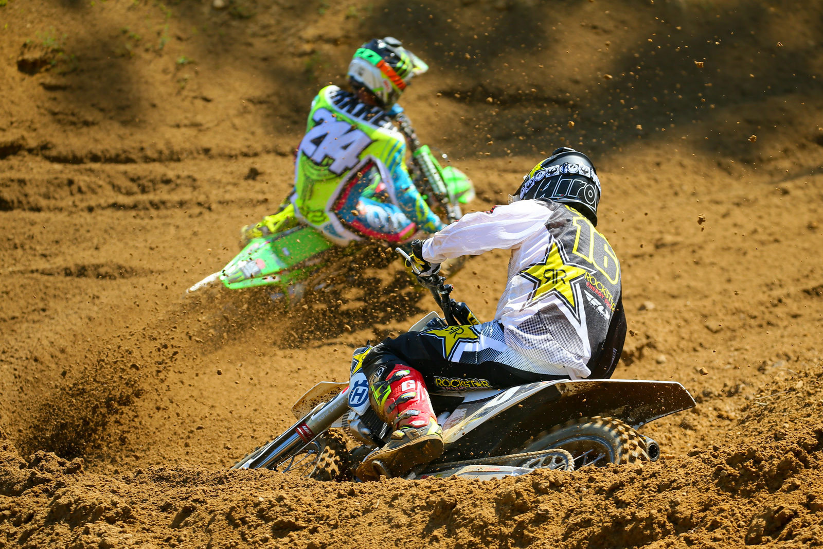 Austin Forkner and Zach Osborne - Photo Blast: Budds Creek - Motocross Pictures - Vital MX