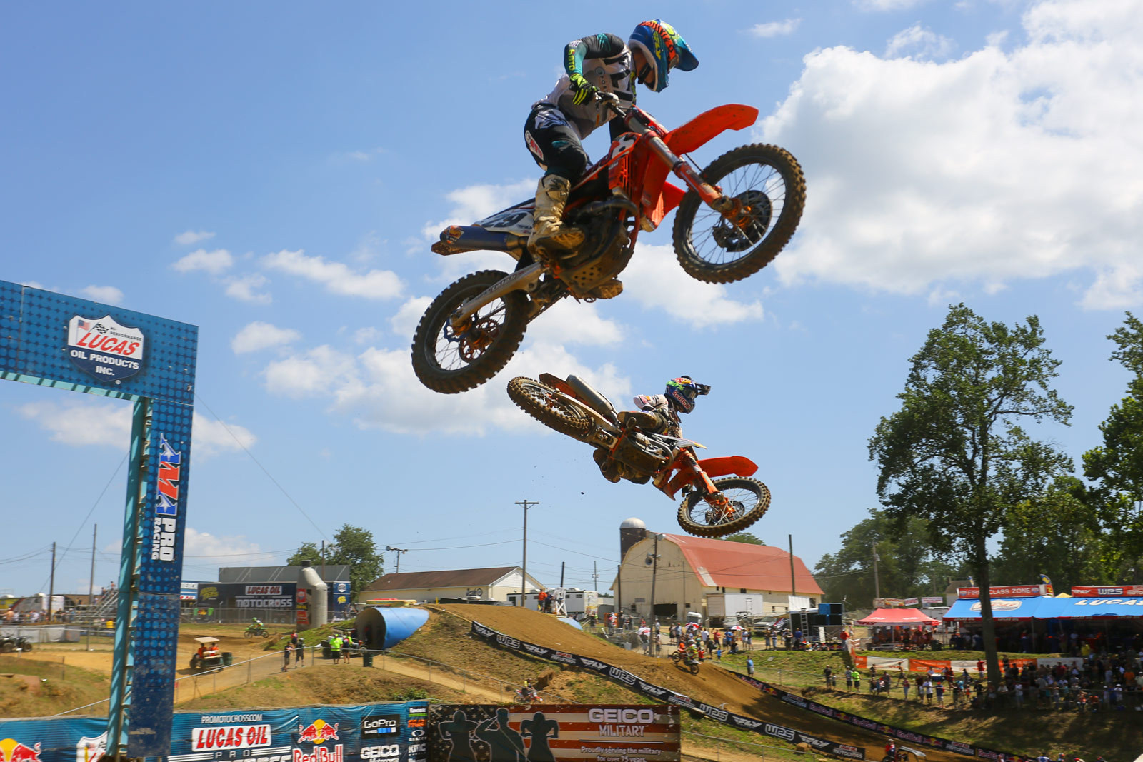 Andrew Short and Marvin Musquin - Photo Blast: Budds Creek - Motocross Pictures - Vital MX