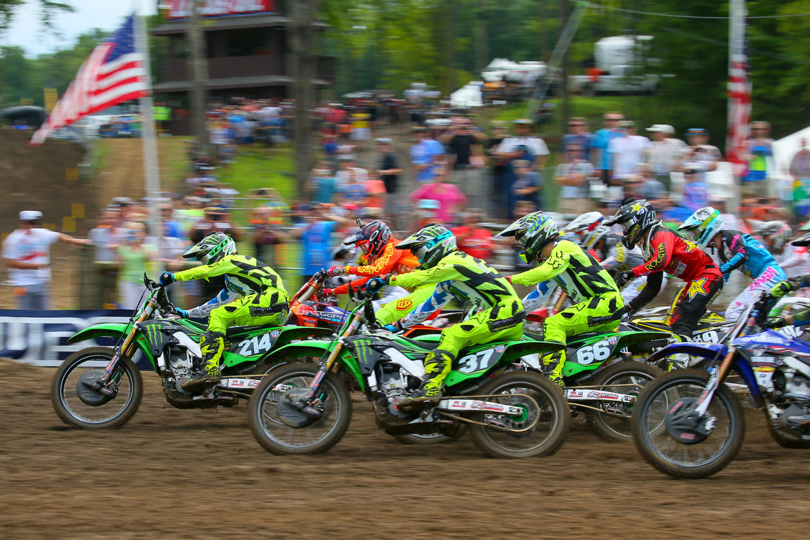 Photo Blast: Ironman Raceway, and the 250 moto one start - Photo Blast: Ironman - Motocross Pictures - Vital MX