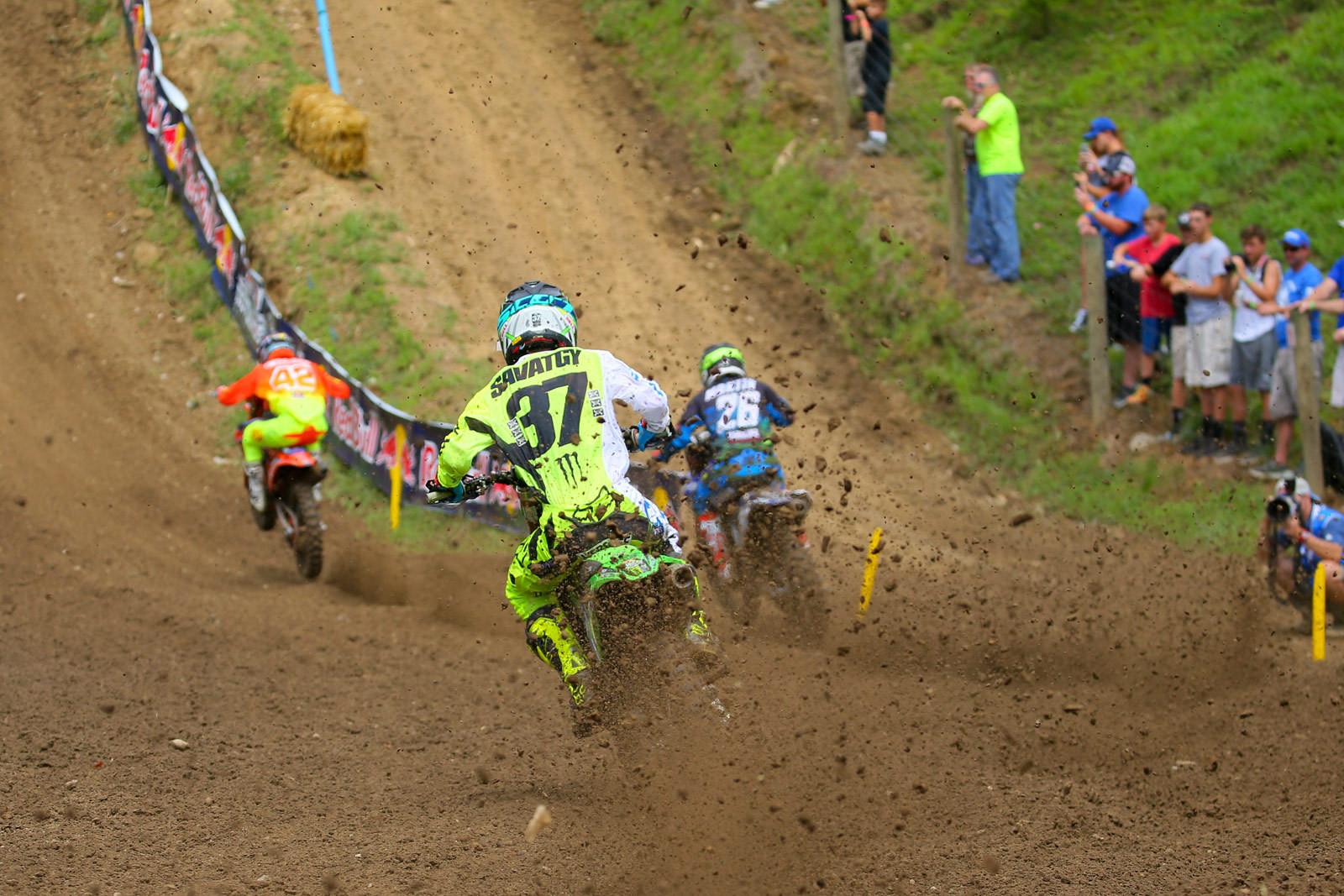 Mitchell Oldenburg, Alex Martin, and Joey Savatgy - Photo Blast: Ironman - Motocross Pictures - Vital MX