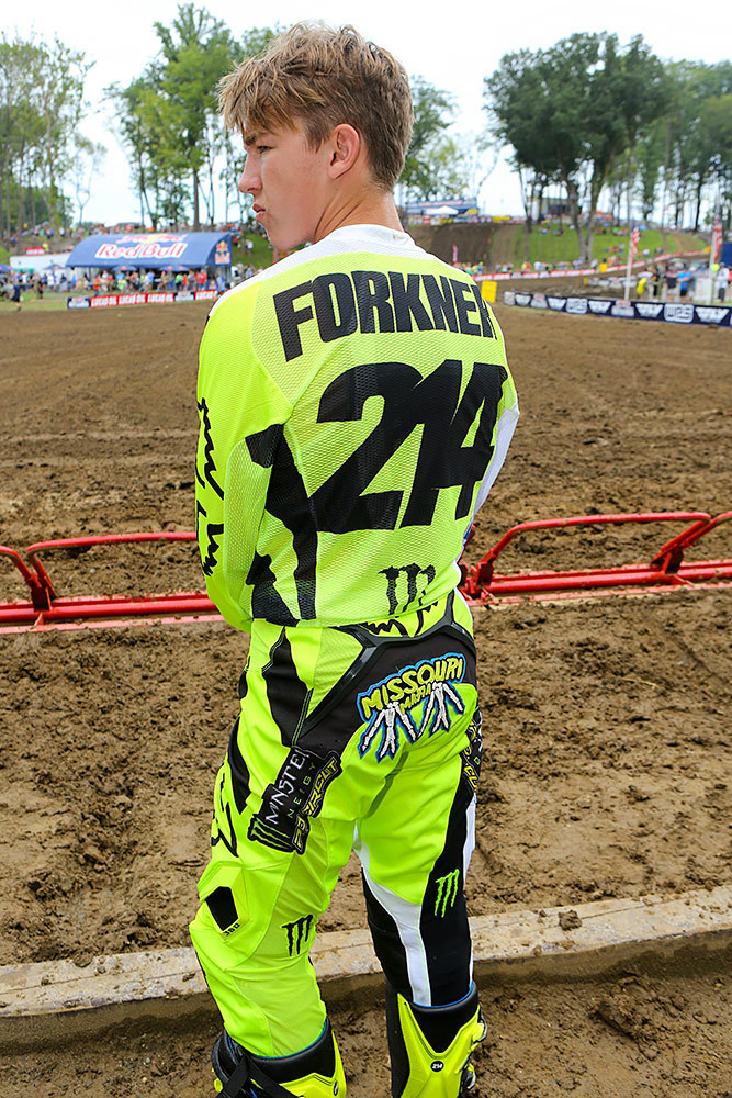 Austin Forkner - Vital MX Pit Bits: Ironman - Motocross Pictures - Vital MX