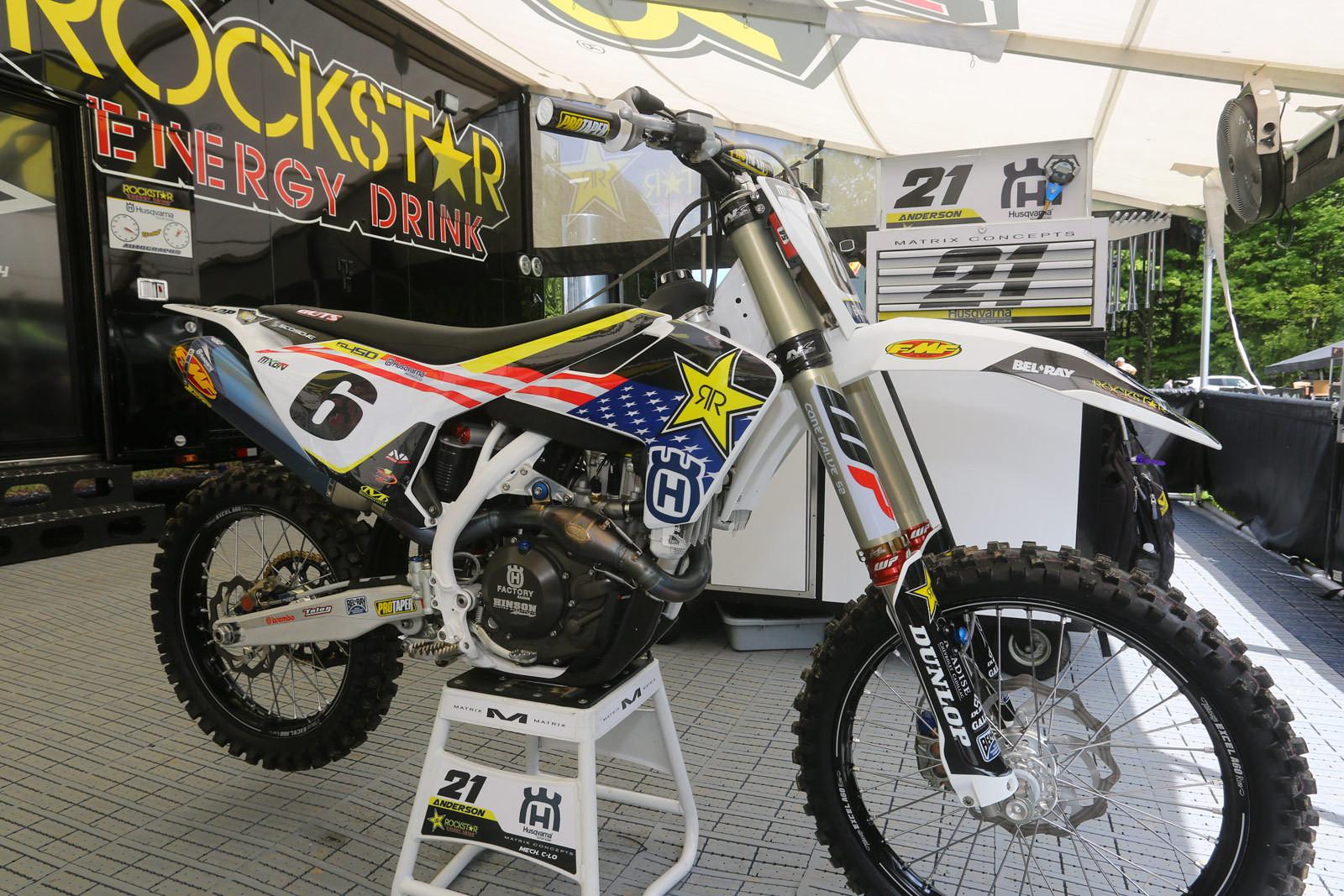 Jason Anderson - Vital MX Pit Bits: Ironman - Motocross Pictures - Vital MX