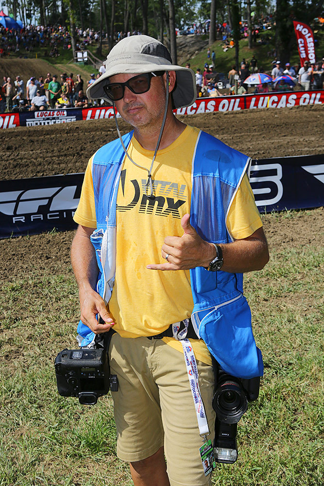 Jeff Kardas - Vital MX Pit Bits: Ironman - Motocross Pictures - Vital MX