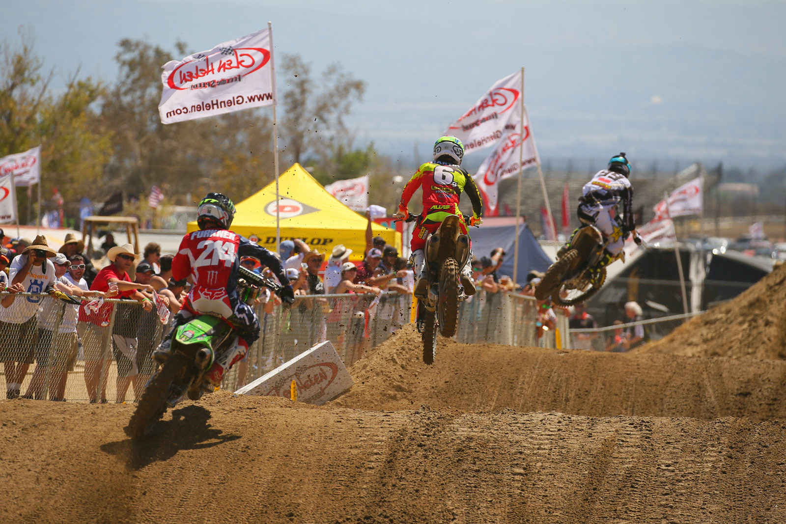 Max Anstie, Jeremy Martin, and Austin Forkner - Photo Blast: MXGP of the USA - Motocross Pictures - Vital MX