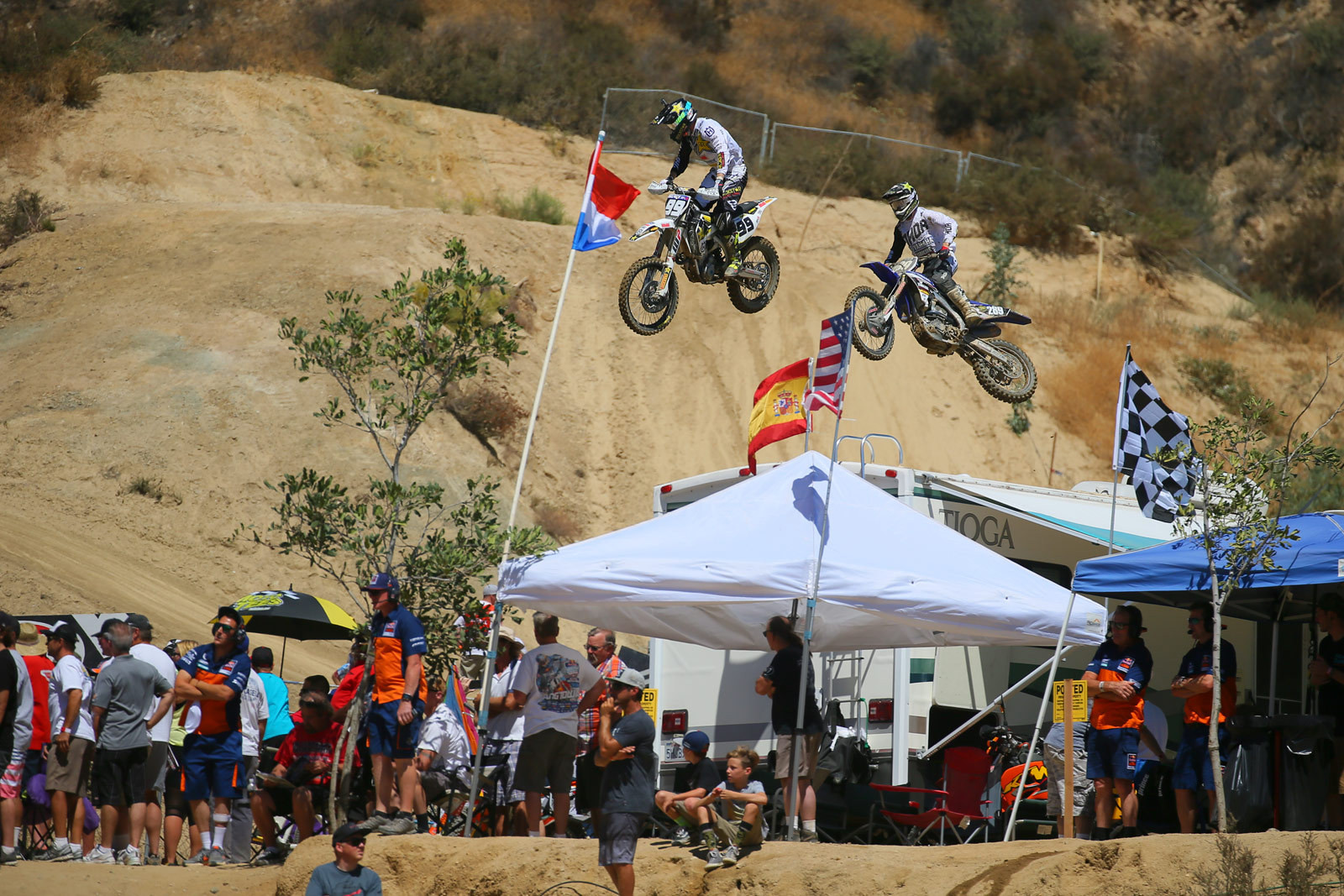 Max Anstie and Mitchell Harrison - Photo Blast: MXGP of the USA - Motocross Pictures - Vital MX