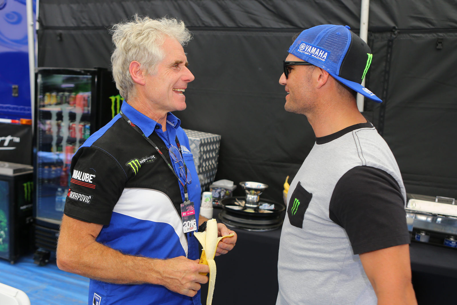 Michele Rinaldi and Chad Reed - Photo Blast: MXGP of the USA - Motocross Pictures - Vital MX