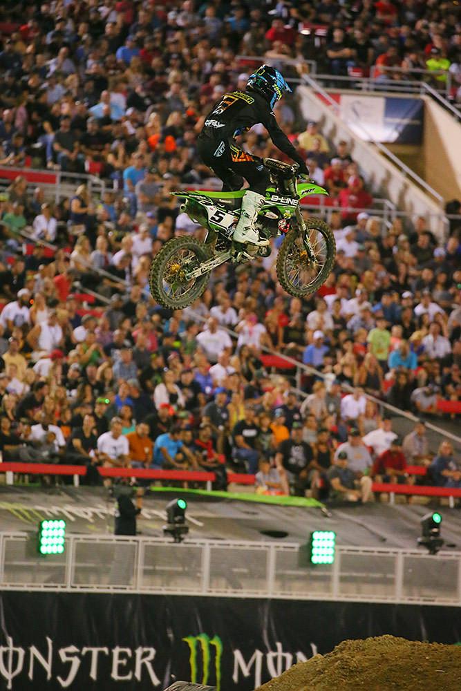 Seth Hammaker - Photo Blast: Monster Energy Cup - Motocross Pictures - Vital MX