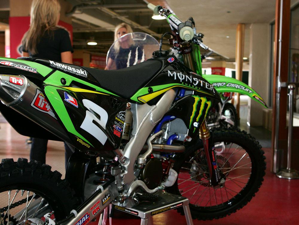 Ryan Villopotou0027s Monster Energy Pro Circuit Kawasaki   2008 A1 Press  Conference   Motocross Pictures