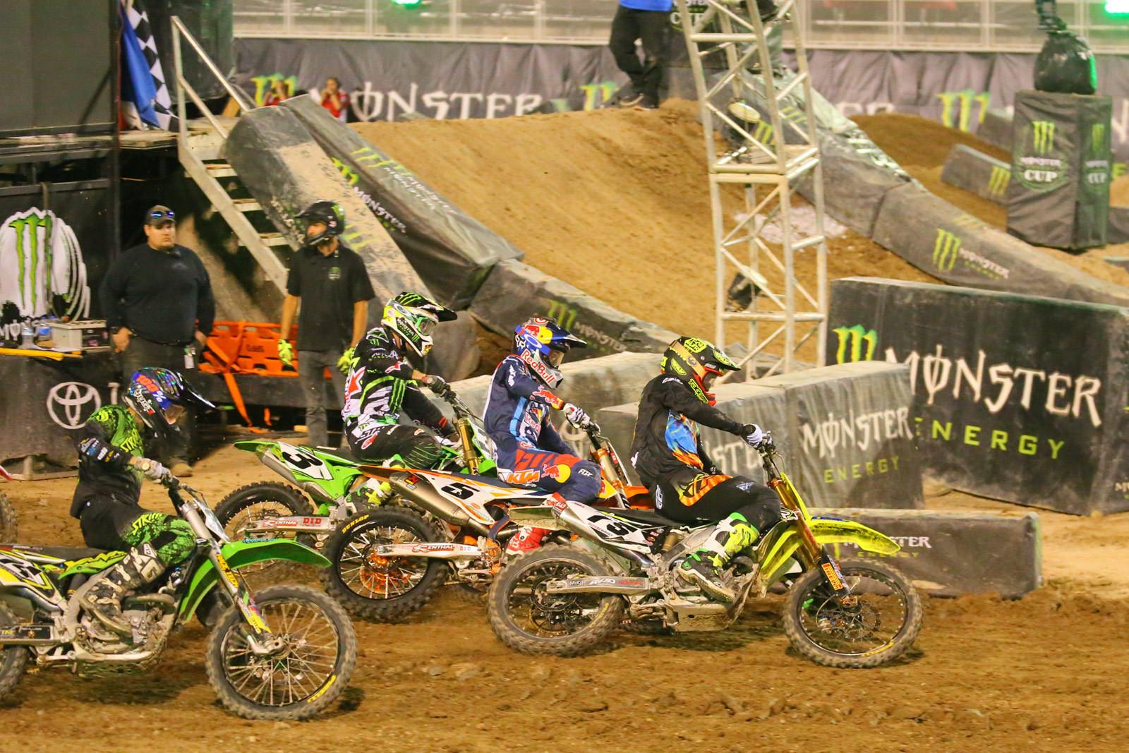 Nick Schmidt, Ryan Dungey, Eli Tomac - Photo Blast: Monster Energy Cup - Motocross Pictures - Vital MX