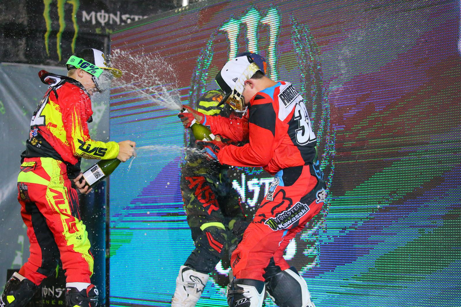 Martinelli battle - Photo Blast: Monster Energy Cup - Motocross Pictures - Vital MX