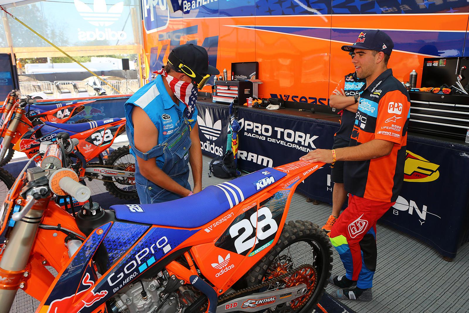 Ricky Mac and Jordon Smith - Photo Blast: Red Bull Straight Rhythm - Motocross Pictures - Vital MX