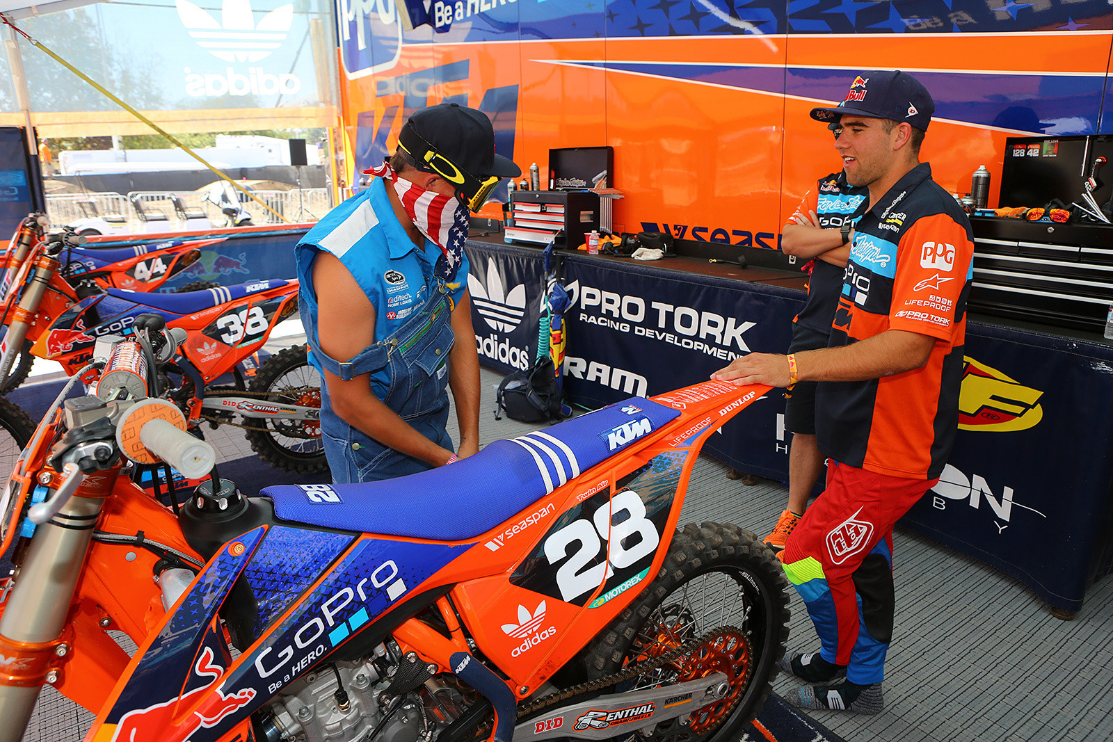 Ricky Mac and Jordon Smith - Photo Blast: Red Bull Straight Rhythm - Motocross Pictures - Vital MX