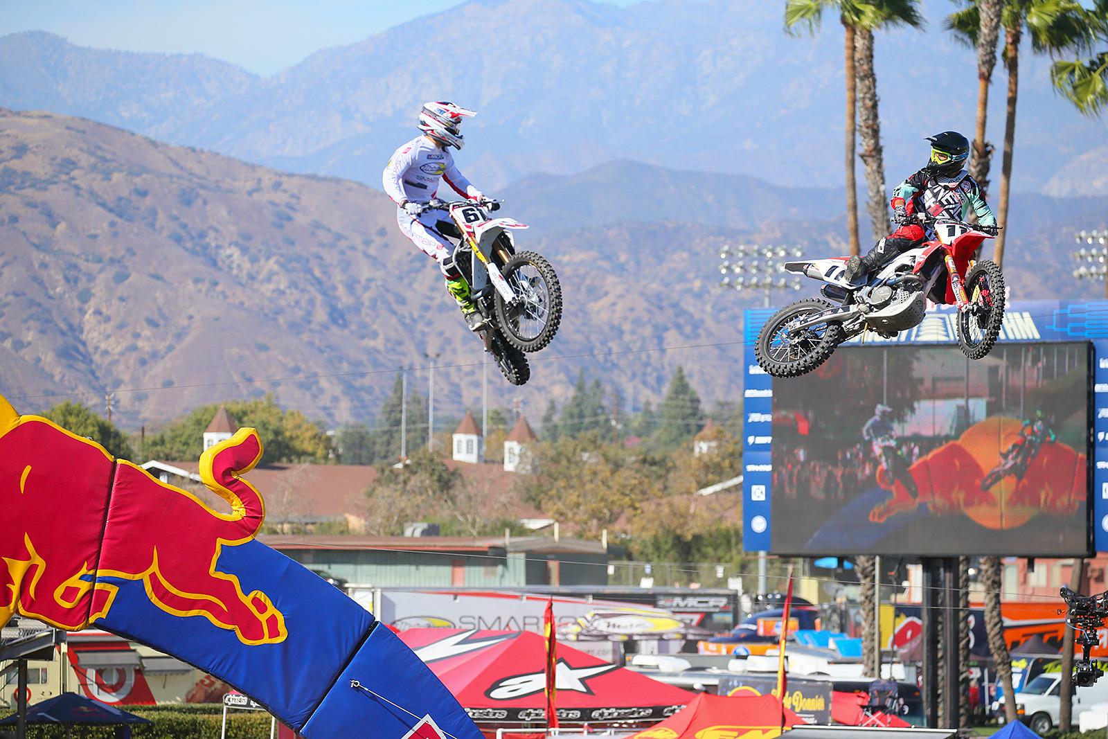 Vince Friese and Kyle Chisholm - Photo Blast: Red Bull Straight Rhythm - Motocross Pictures - Vital MX
