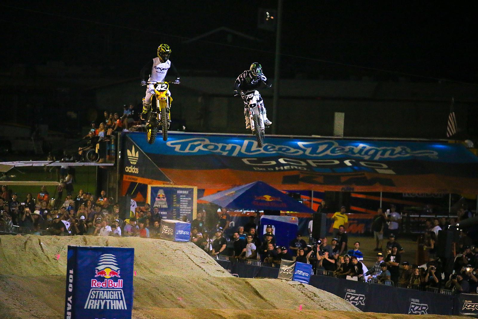 Kyle Cunningham and Josh Hill - Photo Blast: Red Bull Straight Rhythm - Motocross Pictures - Vital MX