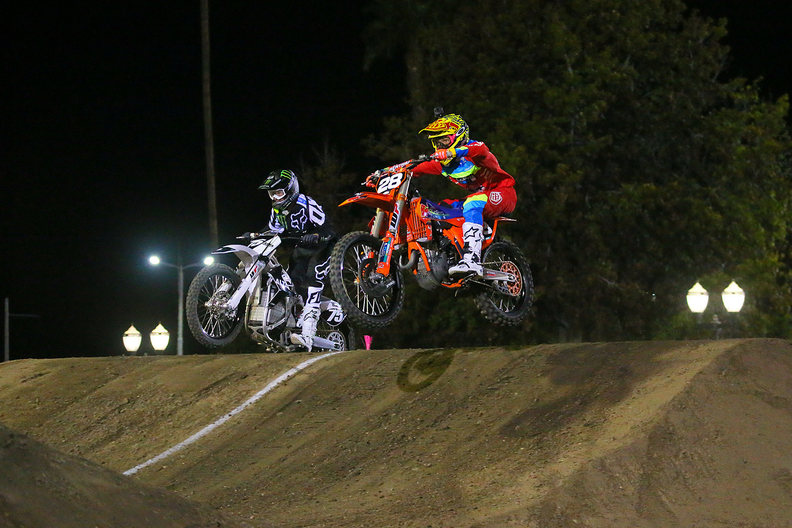 Josh Hill and Mitchell Oldenburg - Photo Blast: Red Bull Straight Rhythm - Motocross Pictures - Vital MX